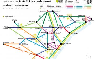 Santa Coloma de Gramenet estrena su Metrominuto