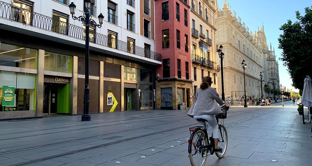 Sevilla tiene un andar especial