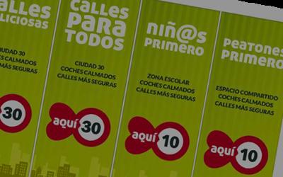 """Ciudades que Caminan lanza """"Iniciativa Ciudad 30"""" para acompañar a las ciudades en su adaptación a las nuevas velocidades"""