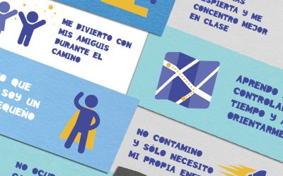 «Al cole andando» para sanear los entornos escolares