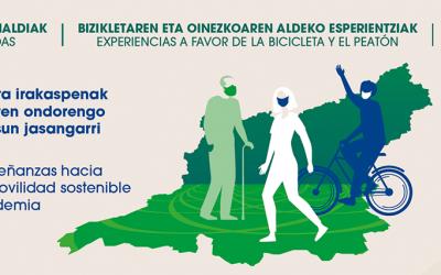 Encuentro de ciudades, organizaciones y Gobierno en un foro de movilidad post-covid en Gipúzkoa