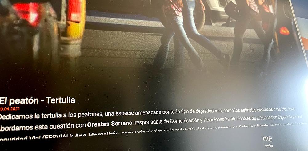 Tertulia sobre peatones que acabó siendo sobre ciudades