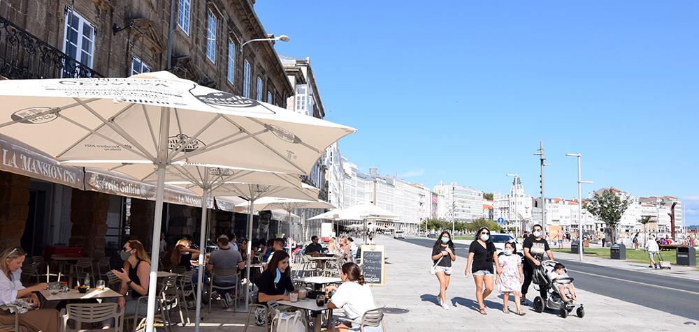 A Coruña acentúa aún más su tradición caminable