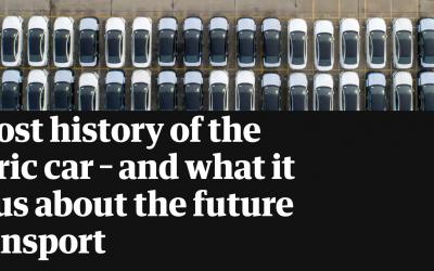 El coche eléctrico del principio del coche