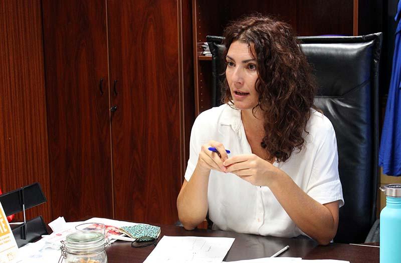 María José Roca: «Invertir la pirámide de la movilidad, un reto descomunal»